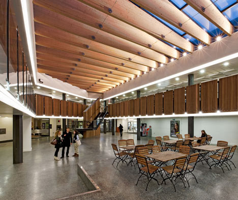 University of Warwick Student Union by MJP Architects