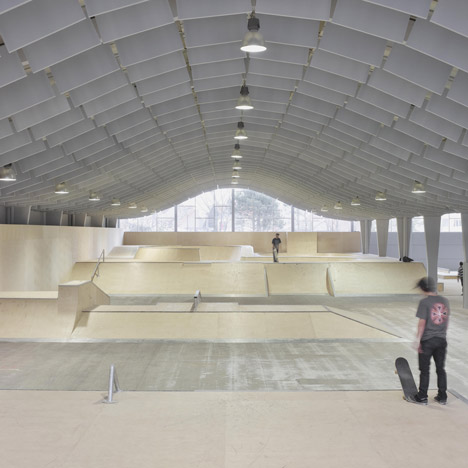 Skatepark design dezeen zap ados by bang architectes malvernweather