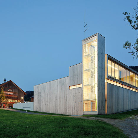 Fire Station, Thal by Dietrich Untertrifaller