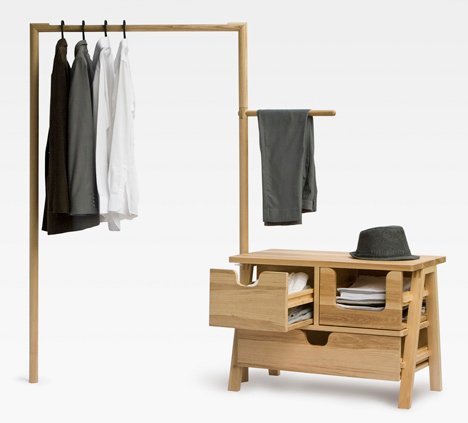 Furniture by THINKK Studio and Studio 248 at Ventura Lambrate