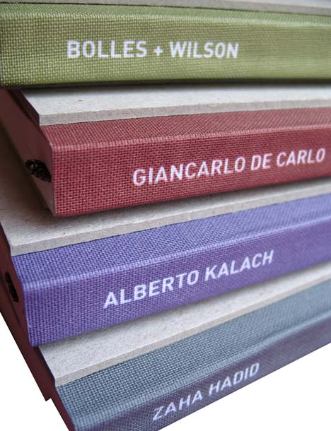 Inspiration and process books by Moleskin
