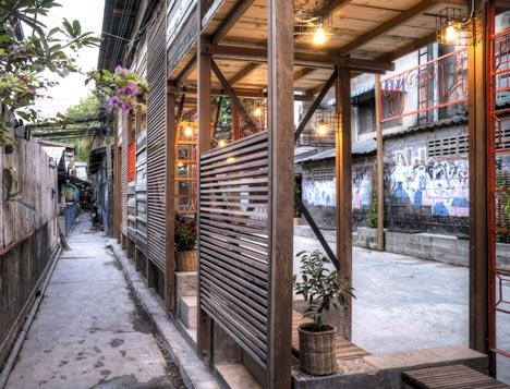 Klong Toey Community Lantern by TYIN tegnestue