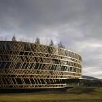 Alésia Museum visitor's centreby Bernard Tschumi Architects