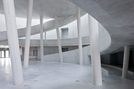 Alésia Museum Visitor Centre by Bernard Tschumi Architects