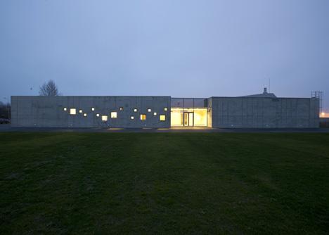 Crematorium in Kėdainiai by Architektu Biuras