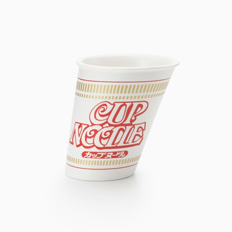 Cup Noodle Forms by Nendo