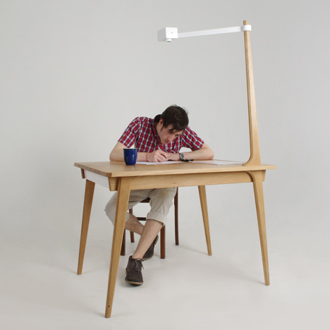 Technology and design: Delen Memory Table by David Franklin