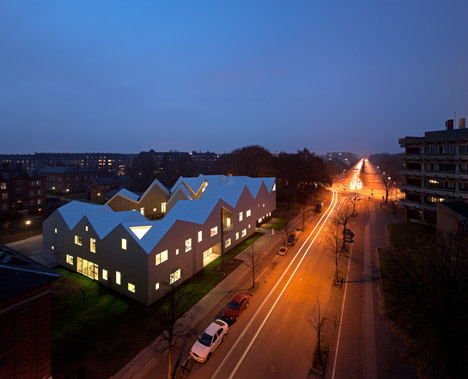 Healthcare Centre for Cancer Patients by NORD Architects