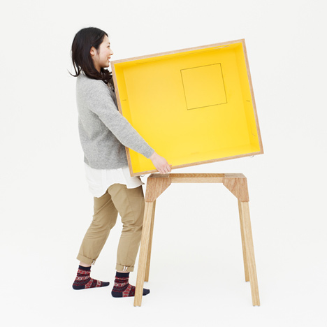 Koloro-desk by Torafu Architects