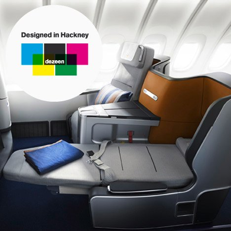 Lufthansa Business Class Seat and Cabin by PearsonLlo