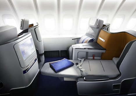 Lufthansa Business Class Seat and Cabin by PearsonLloyd
