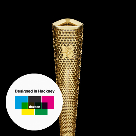 Designed in Hackney: 2012 Olympic Torch by BarberOsgerby