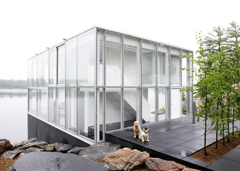 glass pavilion blue ant studio. Black Bedroom Furniture Sets. Home Design Ideas