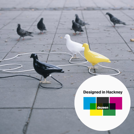 Designed in Hackney: Pigeon Light by Ed Carpenter