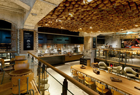 The Bank by Liz Muller for Starbucks