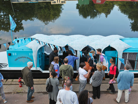 The Floating Cinema by Studio Weave