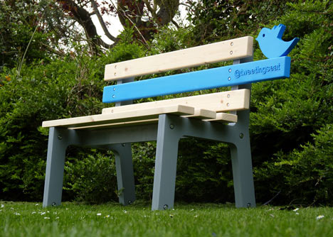 Technology and deign: TweetingSeat by Chris McNicholl