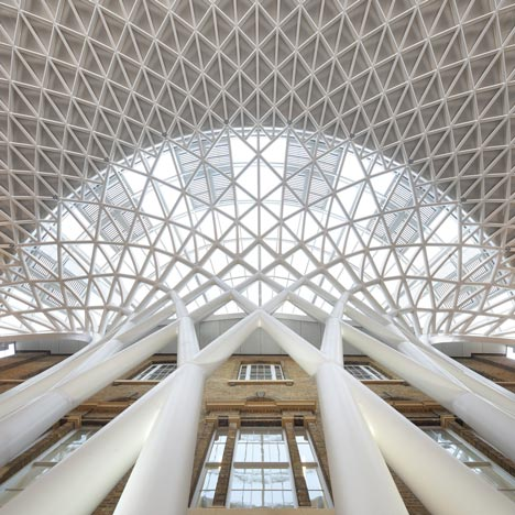 Western Concourse at Kings Cross by John McAslan and Partners