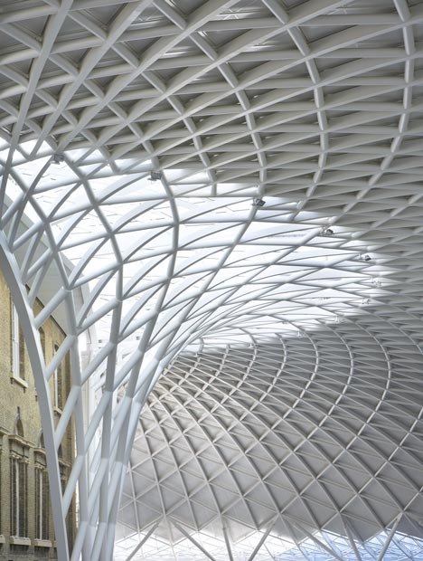 Western Concourse at King's Cross by John McAslan + Partners