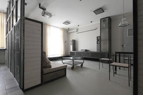 wood warm wight apartment by peter kostelov dezeen