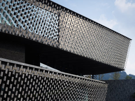 Xinjin Zhi Museum by Kengo Kuma and Associates
