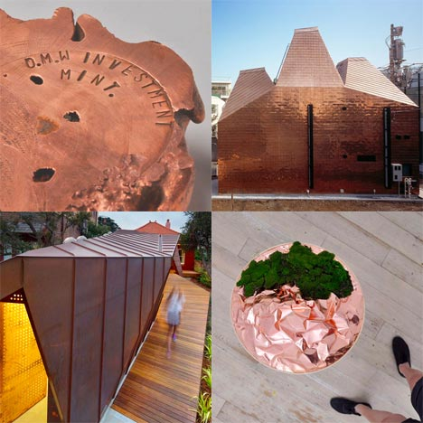 Dezeen archive: copper