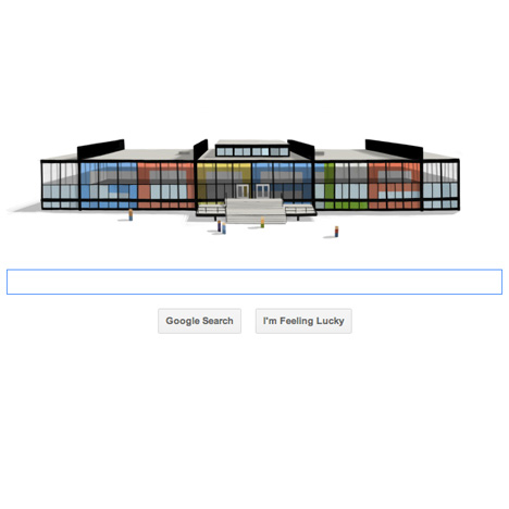 Google pays tribute to Mies van der Rohe
