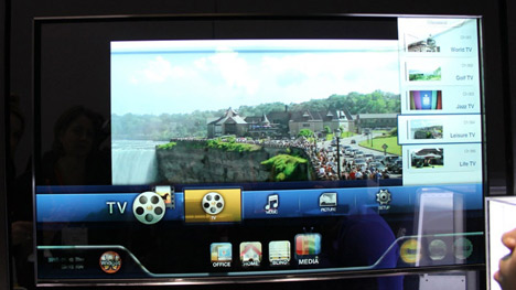 Technology and design: Smart Window by Samsung