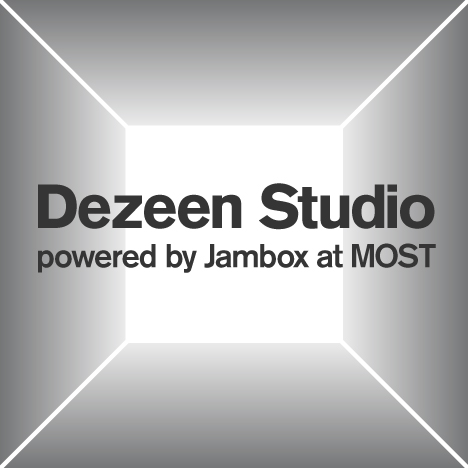 Dezeen Studio at MOST in Milan