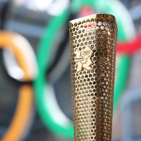 Designed in Hackney: London 2012 Olympic Torch