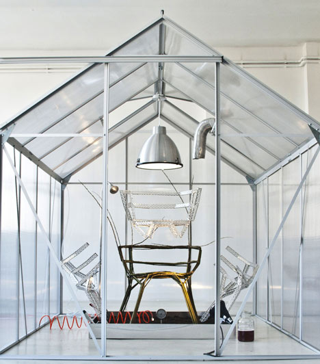 Chair Farm by Werner Aisslinger at Ventura Lambrate