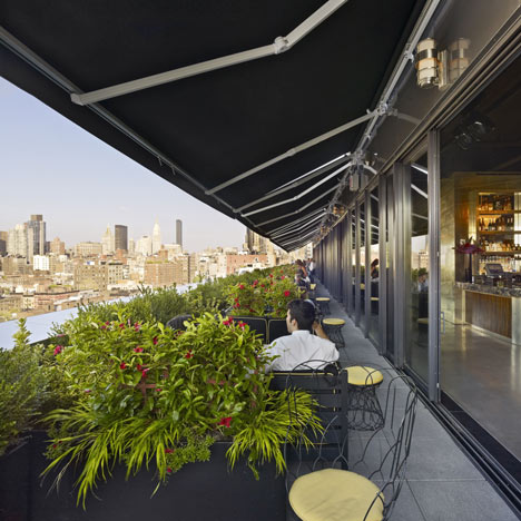 Dezeen Dream Downtown Hotel by Handel Architects