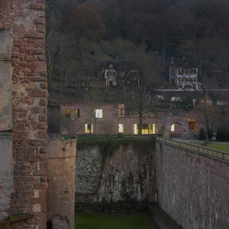 Heidelberg Castle Visitor Centre by Max Dudler