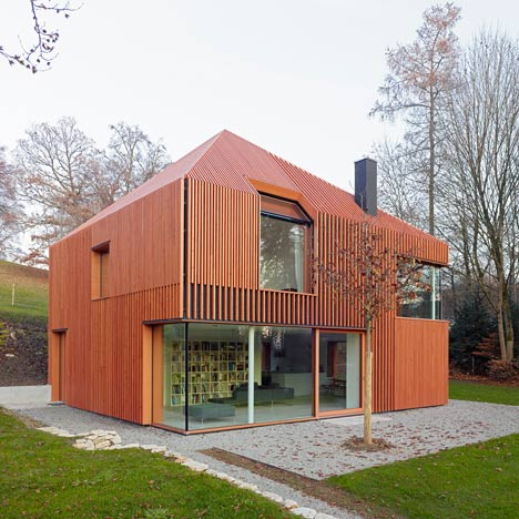 House 11x11 By Titus Bernhard Architekten Dezeen