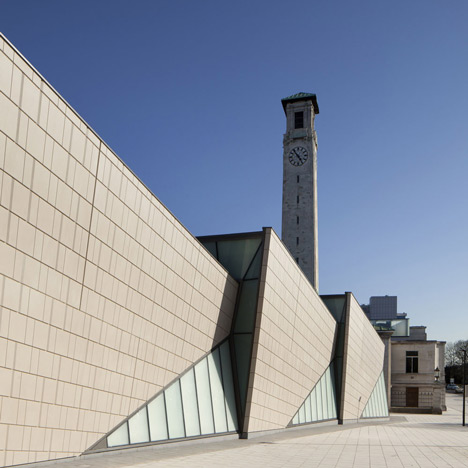 SeaCity Museum by Wilkinson Eyre Architects