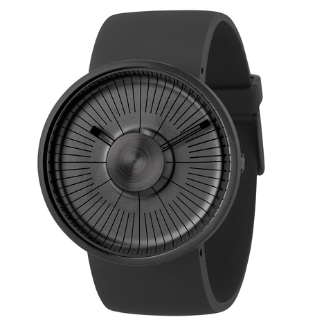 Special edition ultra black MY03 Hacker at Dezeen Watch Store