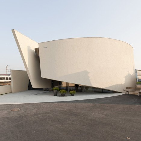 Chapel of rest in graz by hofrichter ritter architekten for Architecture rest
