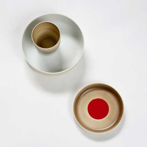 Colour Porcelain by Scholten & Baijings for 1616 Arita Japan