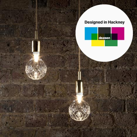 Designed in Hackney: Crystal Bulb by Lee Broom