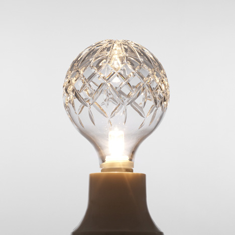 Crystal Bulb by Lee Broom