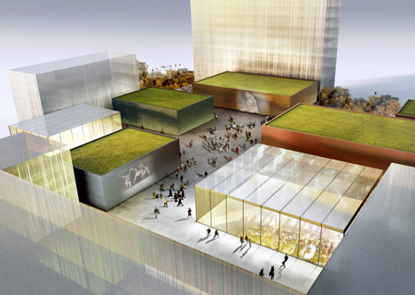 Cultural Campus Frankfurt by Adjaye Associates