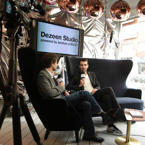 Dezeen Studio: Saturdayat MOST