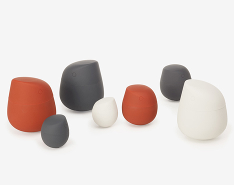 Figurine Containers by TAF