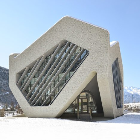 House of Justice and Police Station, Mestia by J Mayer H