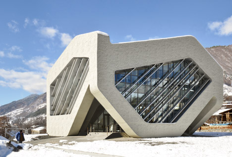 House of Justice and Police Station, Mestia by J. Mayer H.
