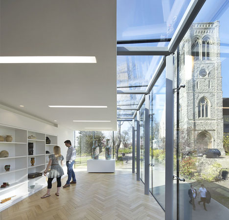 Maidstone Museum East Wing by Hugh Broughton Architects