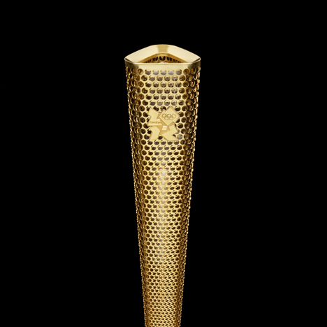 Olympic Torch by BarberOsgerby