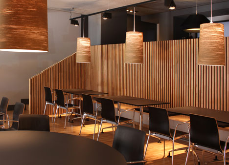 Restaurant in Bilbao by Pauzarq