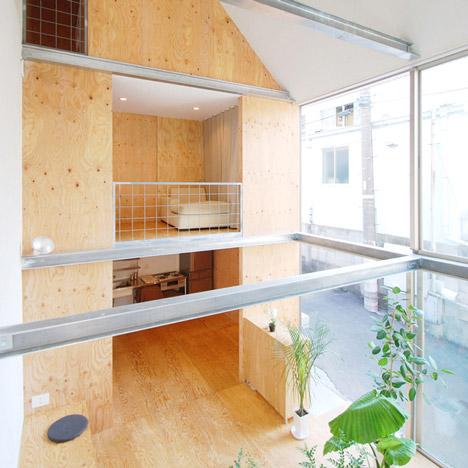 Small House In Shinjuku By Junpei Nousaku Architects Dezeen