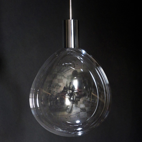 Surface Tension Lamp by Front
